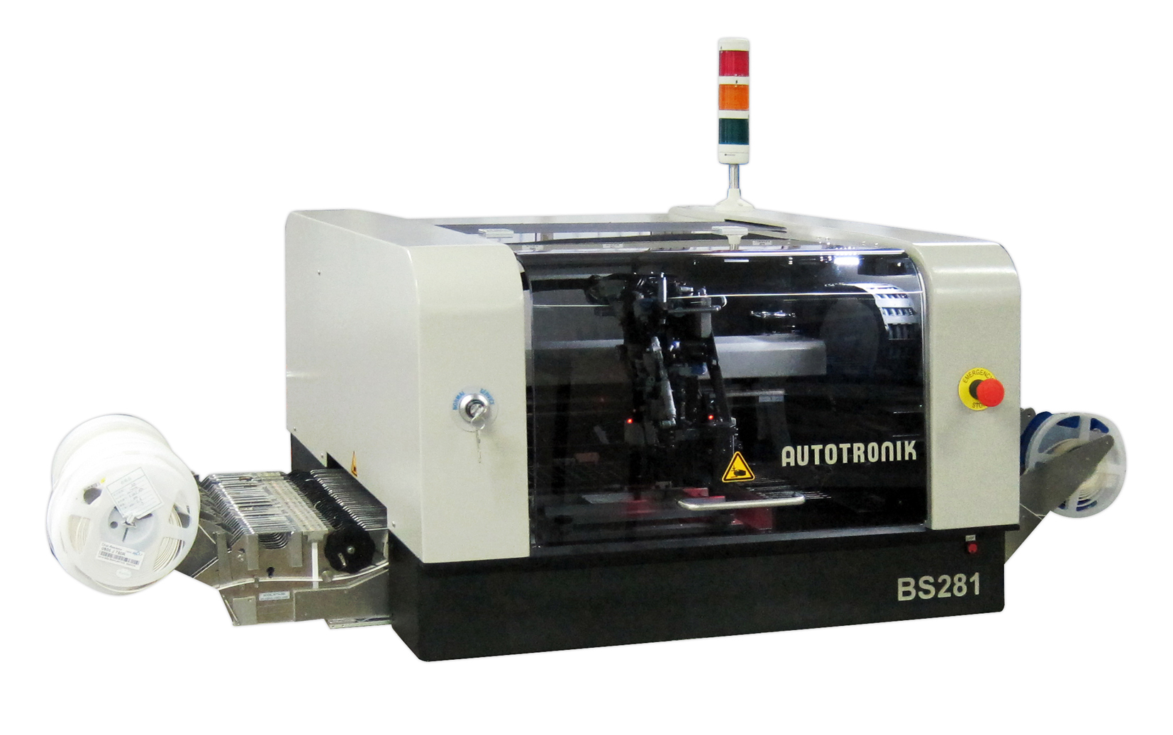 Tisch Bestückungsautomat für Labor und Fertigung