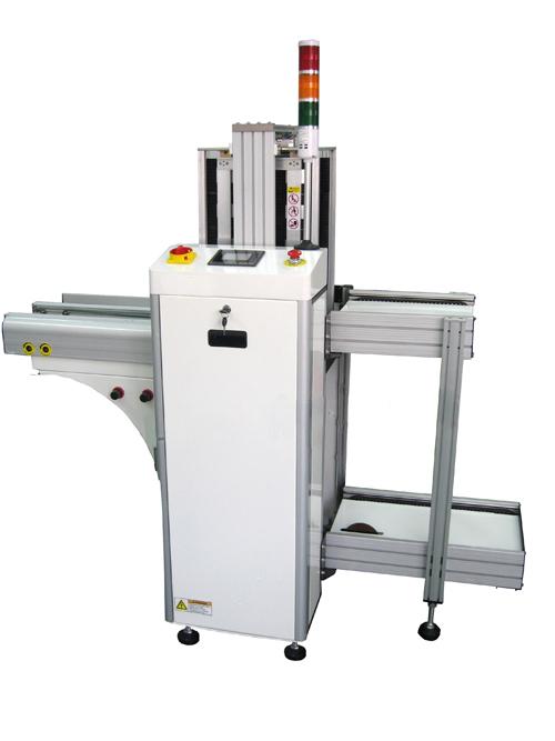 SMD Unloader für Leiterplatten von Autotronik bei der Industrievertretung