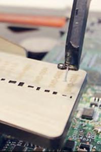 Rework von mikro SMD ist mit der SMD Reworkstation problemlos möglich.